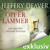 """Das Audible-Hörbuch """"Opferlämmer"""" von Jeffery Deaver"""