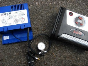 Bordwerkzeug-Kompressor und AEG KD 7.0